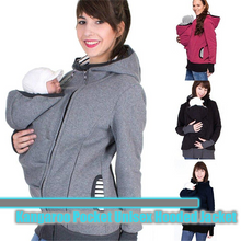 Load image into Gallery viewer, Kangaroo Pocket Unisex Hooded Jacket