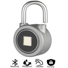 Load image into Gallery viewer, Smart Fingerprint Electronic Padlock