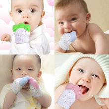 Load image into Gallery viewer, Baby Teething Silicone Mitten