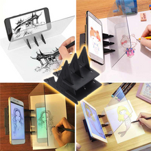 Load image into Gallery viewer, LED Reflection Sketching Mirror Board