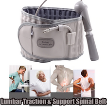 Load image into Gallery viewer, Lumbar Traction & Support Spinal Belt
