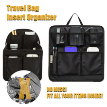 Load image into Gallery viewer, Travel Bag Insert Organizer