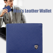 Load image into Gallery viewer, Men's Leather Wallet