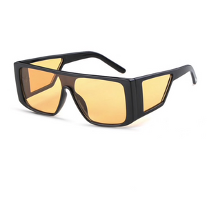 Windproof Reflective Retro Sunglasses