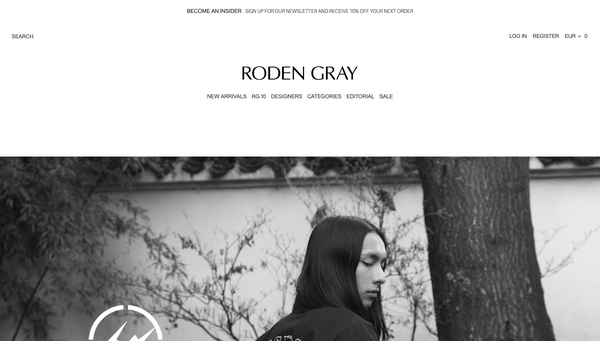 roden gray shopify beeclever