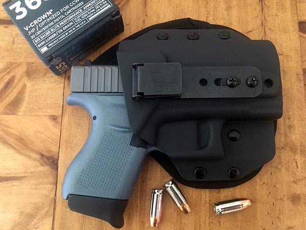 CONCEALED CARRY.COM REVIEW of the UltimateHYBRID IWB by Eve Flanigan