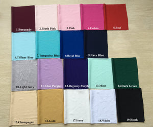 Jersey Fabric Swatches