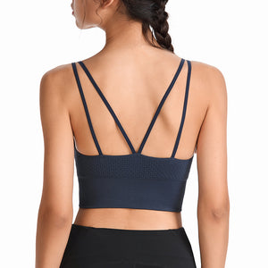Yoga Activewear Tops For Women Strappy Workout Clothes