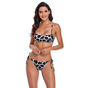 Sexy Bikinis For Women Lace Up Strappy Bathing Suit