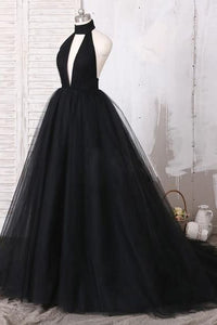 Black Prom Dress 2021 Tulle