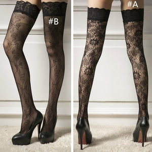 Suspender Stockings Pantyhose Garter Fishnet Lace Tights
