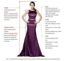 Load image into Gallery viewer, Cowl Back Bronze Gold Sequin Long Bridesmaid Dress 2020 Mermaid