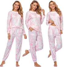 Load image into Gallery viewer, Tie Dye Pajama Set for Women Lounge Set