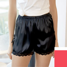 Load image into Gallery viewer, Ice Silk Sleep Bottom Lounge Shorts For Women