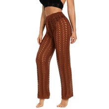 Load image into Gallery viewer, Sexy Cover-ups For Women Knitted Hollow Pants