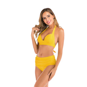 Bikini Sets For women High Waisted Halter String Suits
