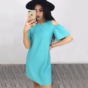 Naomi Allen Cold Shoulder Dress