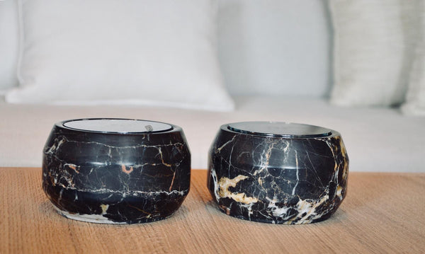 Ooumm - Marble Candle Holder