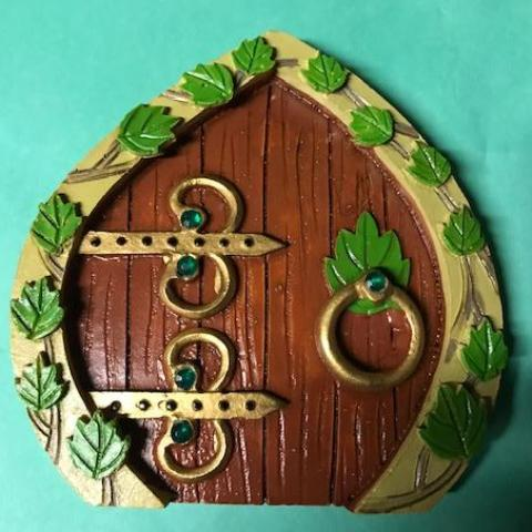 Fairy Welcome Door