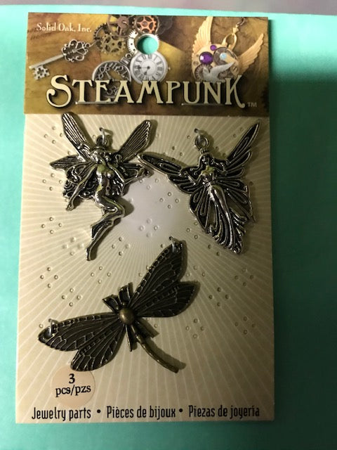 Steampunk Fairy Charms