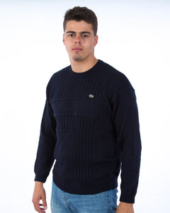 Bootleg Lacoste Sweater Donkerblauw- Large