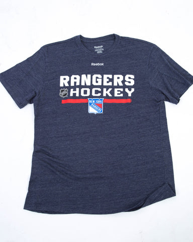 Reebok Rangers Hockey T-shirt  - Large