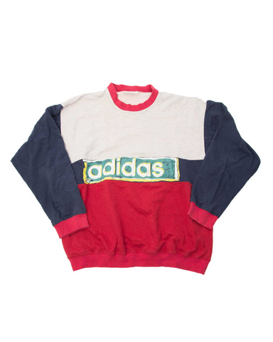 Vintage Adidas Sweater - Large