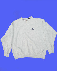 Adidas Sweater  Grijs - Large