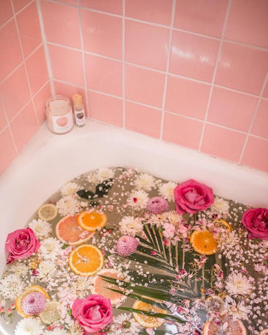 Take a citrus bath for eco-friendly self-care