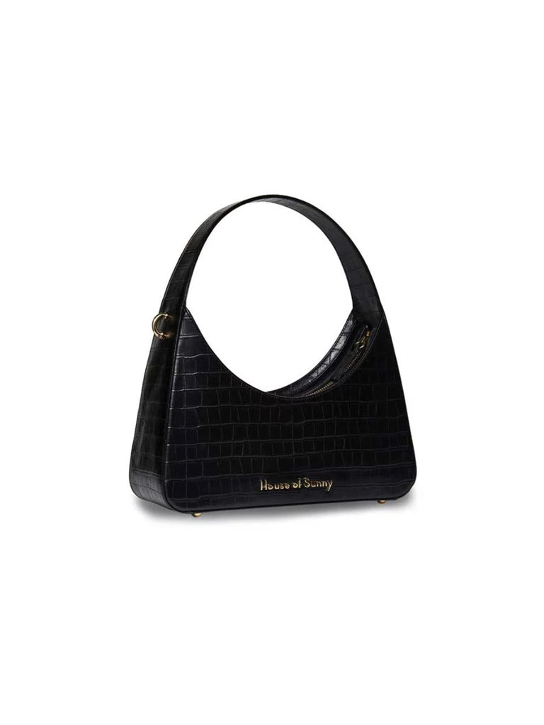 Icon Shoulder Bag - Black