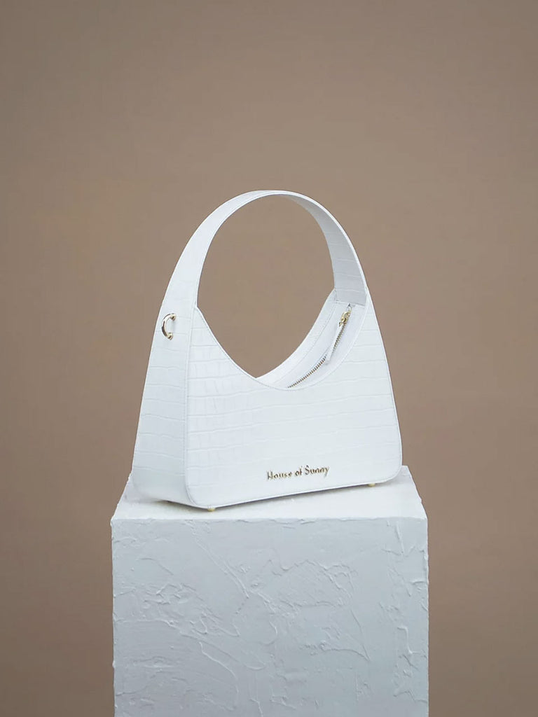 Icon Shoulder Bag - White