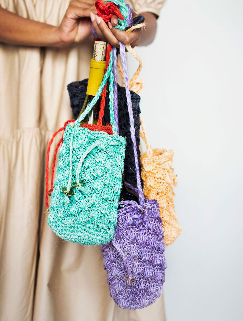 Colorful Sustainable Fashion Handbags