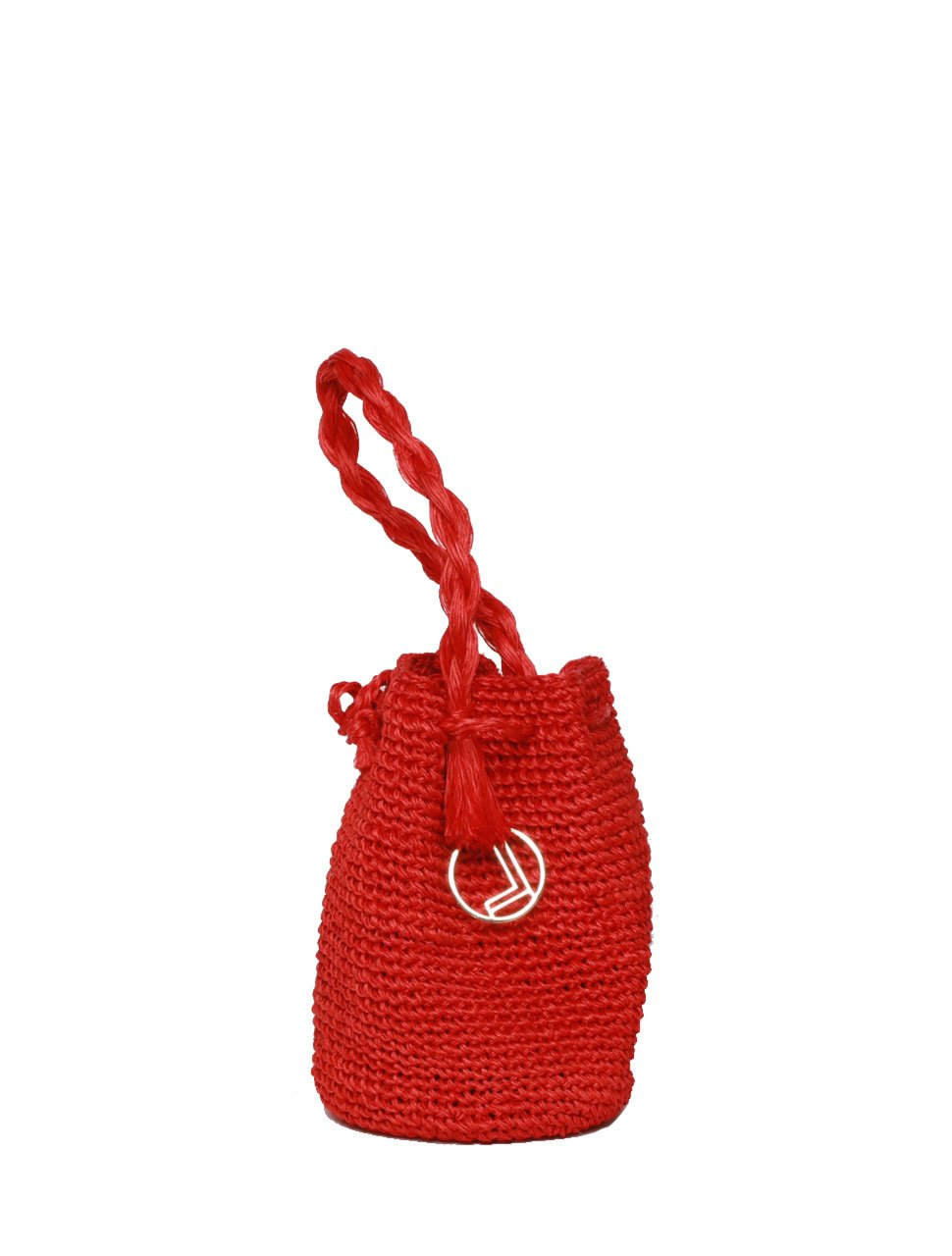 Red Handmade Sustainable Bag