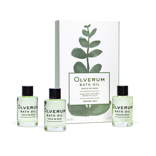 Bath Oil Travel Set
