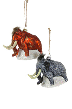 Arctic Mammoth Ornament