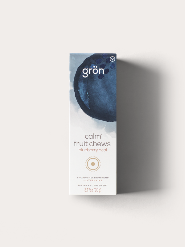 Calm Fruit Chews: Blueberry Acai
