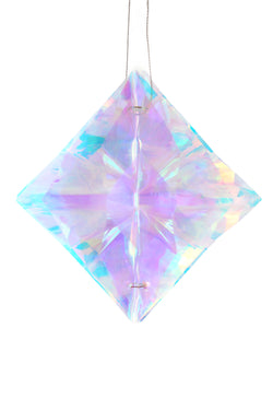 Iridescent Diamond Ornament