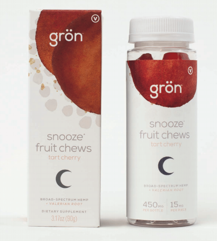Snooze Fruit Chews: Tart Cherry