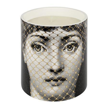 Golden Burlesque Candle