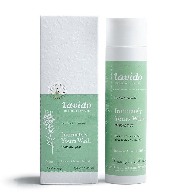 Lavido Tea Tree & Lavender Intimately Yours Wash Bath & Body - Bath & Shower Lavido