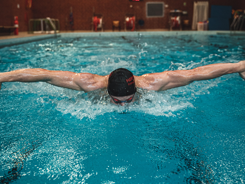 Effect of Additional Respiratory Muscle Endurance Training in Young Well-Trained Swimmers