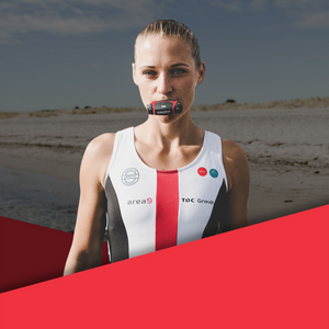Mathilde Persson is using Airofit Breathing Trainer. The respiratory training device will boost her performance through tested breathing exercises