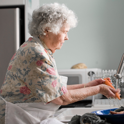 71-year-old improved her quality of life