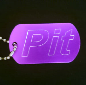 """Pit"" Dogtag"