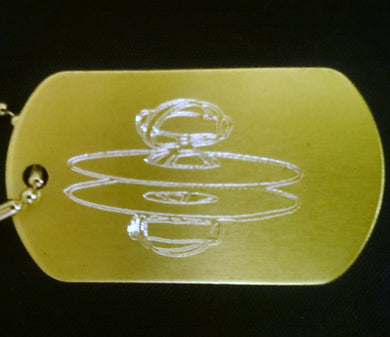 Cymbals Graphic Dogtag