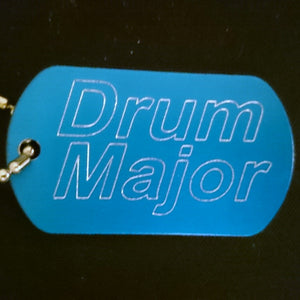 """Drum Major"" Dogtag"