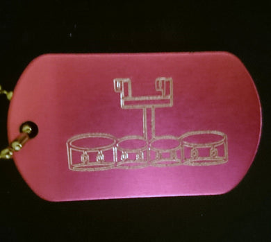 Tenors Graphic Dogtag