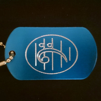 Bass Clef Graphic Dogtag