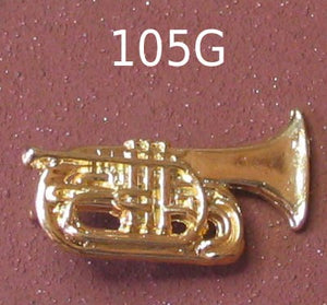 Marching Baritone, Gold-tone