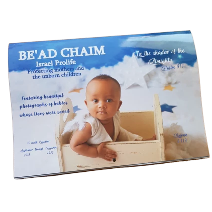 Be'ad Chaim Baby Calendar - 2019-2020 product shot